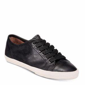 NEW Frye   Mindy Low Black Sneaker size 8